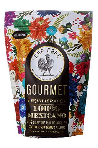 Cap Café, Molido Gourmet, 500 gramos