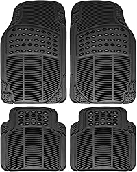 OxGord Ridged All-Weather Rubber Mats