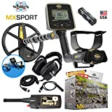 MX Sport Whites Waterproof Detector Summer Bundle w/Bullseye II Pinpointer