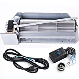 Criditpid Fireplace Blower Kits Replacement for Superior, Lennox, Astria, Rotom Fireplaces, FBK-200 Fireplace Blower Kit for Lennox