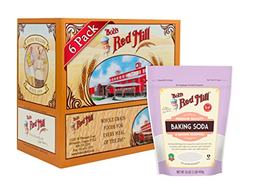 Bob's Red Mill Baking Soda, 16-ounce (Pack of 6)