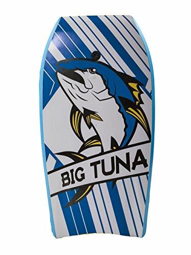 Body Glove 15592 Big Tuna Body Board, White/Navy, 45'