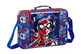 safta 612043385 Bolso Maletín Cartera extraescolares Spiderman, Multicolor
