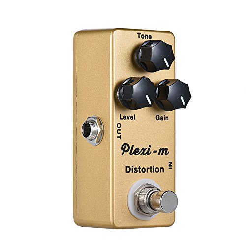 ammoon Electric Guitar Distortion Effect Pedal Full Metal Shell True Bypass MOSKY Plexi-m