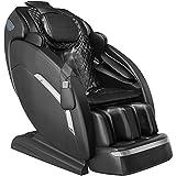 "YITAHOME Full Body Massage Chair Zero Gravity 145CM/57.08"" SL Track Shiatsu Dual Electric Linear Recliner Waist Heater Foot Roller LED Light"