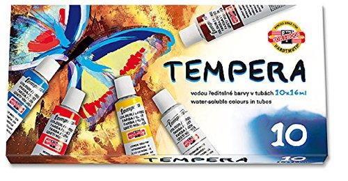 Temperafarbe 10er Set 19ml Tuben Liefermenge = 1