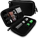Sac Cigarette Électronique   Étui de Rangement pour liquides et Accessoires à emporter (Eva-Black)