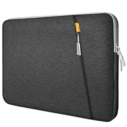 """JETech Laptop Sleeve Compatible for 13.3-Inch Notebook Tablet iPad Tab, Compatible with 13\"""" MacBook Pro and MacBook Air,Waterproof Shock Resistant Bag Case with Accessory Pocket, Grey<br><br>                <strong>Price</strong>: $12.97         <strong>Rating</strong>: 4.8        <strong>Review</strong>: 24618"""