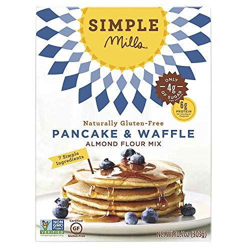 Simple Mills Almond Flour Mix, Panacke & Waffle, 10.7 oz