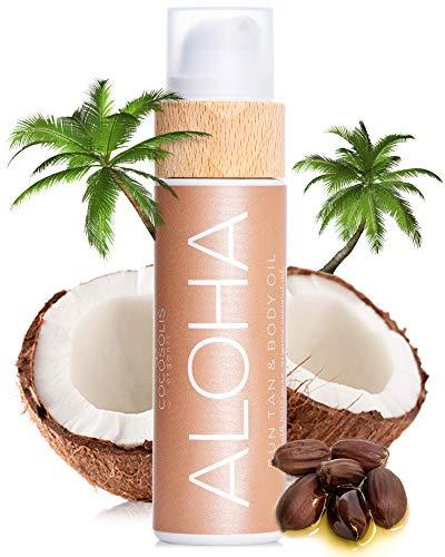 COCOSOLIS ALOHA Sun Tan & Body Oil   Organic...