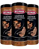 Weiman Leather Wipes - 3 Pack...