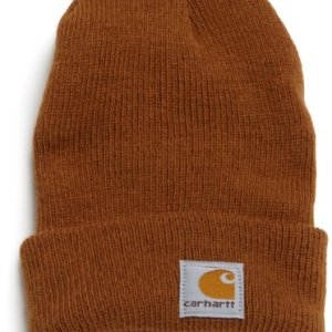 Carhartt Boys' And Girls' Acrylic Watch Hat, Carhartt Brown, Toddler