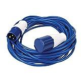 Silverline 981201 Rallonge 14 m 16 A 230 V Bleu