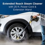 BISSELL Power Steamer Heavy Duty 3-in-1 Steam Mop and Handheld Steamer for Outdoor Use, 2685A, Black