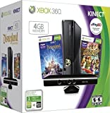 Xbox 360 4GB Console with Kinect Holiday Value (Video Game)