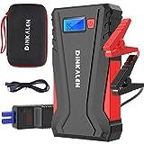 DINKALEN Booster Batterie 12800mAh 800A Portable Jump Starter (Jusqu'à...