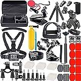 Kit d'Accessoire pour GoPro Hero 7 8 9 Cameras Sport, Caméra Moto avec Black...