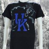 UK-Highlight-University-of-Kentucky-Wildcats-Logo-on-a-Black-Short-Sleeve-T-Shirt