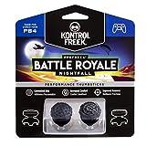 KontrolFreek FPS Freek Battle Royale Nightfall for PlayStation 4 (PS4) Controller   Performance Thumbsticks   2 High-Rise Convex Black