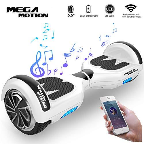 Mega Motion Self Balance Scooter Elettrico E1 6.5' Elettrico Segway - Bluetooth - [Sicurezza UL CE]