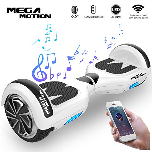 Mega Motion Elektro Scooter E1-6,5' Segway - Bluetooth - EU Sicherheitstandard