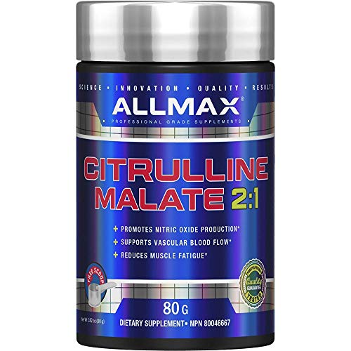 ALLMAX Nutrition Citrulline Malate, Unflavored, (80 g)