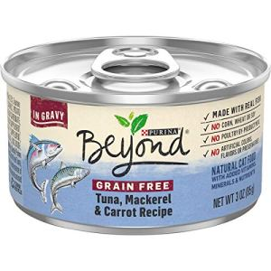 Purina Beyond Grain Free, Natural, Adult Wet Cat Food in Gravy & Wet Cat Food Toppers
