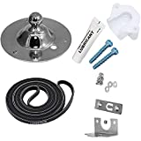 AMI PARTS 5303281153 Dryer Drum Bearing Kit and 134503600 Drum Belt Compatible with Frigidaire & Kenmore Dryers - Replaces AP2142648 PS1148434 PS459829 134163400