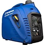 Westinghouse Outdoor Power Equipment iGen2200 Super Quiet Portable Inverter Generator 1800 Rated & 2200 Peak Watts, Gas Powered, Blue and Black