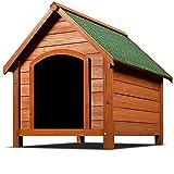 Niche pour chiens avec toit en pente et renforcé- Abri pour...