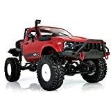YIKESHU Rc Truck, 1:16 Scale Remote Control Car 2.4GHz 4WD RC Off-Road Vehicles High Speed Fast Racing Monster Vehicle Hobby Truck Electric Hobby Toy for Boys Girls Adults