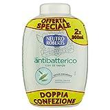 Neutro Roberts Sapone Liquido Ricarica Bis Antibatterico - 600 ml
