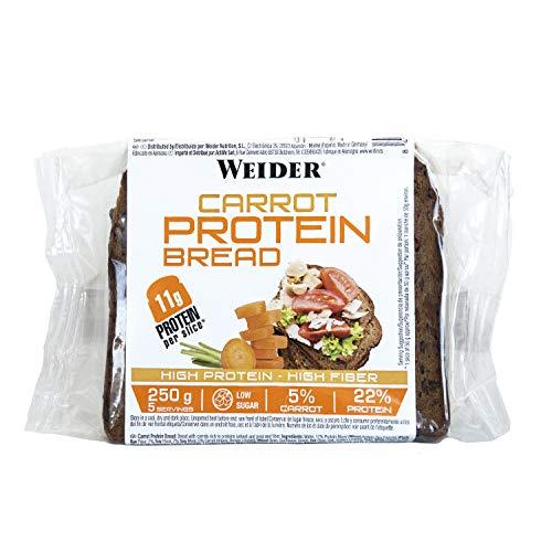 Weider Protein Bread Carrot. Pan Proteico con 11g de proteí