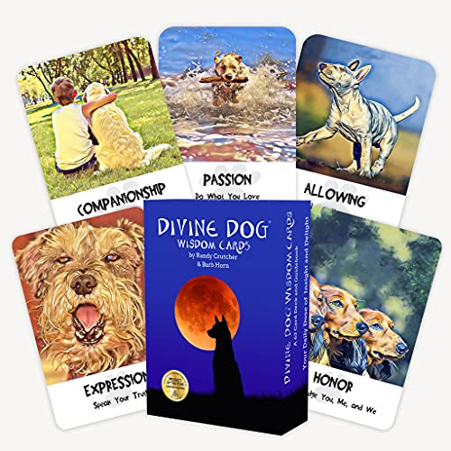 Divine Dog Wisdom Cards 2nd Edition