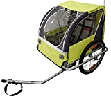 Durca Unisex's 800876 Bicycle Trailer 2 Children Maximum Weight-36 Kg, Multicoloured, One Size