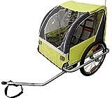 Durca Unisex's 800876 Bicycle Trailer 2 Children Maximum Weight-36 Kg, Multicoloured, One Size