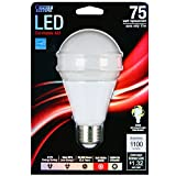 Feit Electric BPOM75/830/LED A21 3000k Dimmable LED, 75W