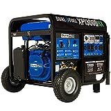 DuroMax XP13000HX Dual Fuel Portable...