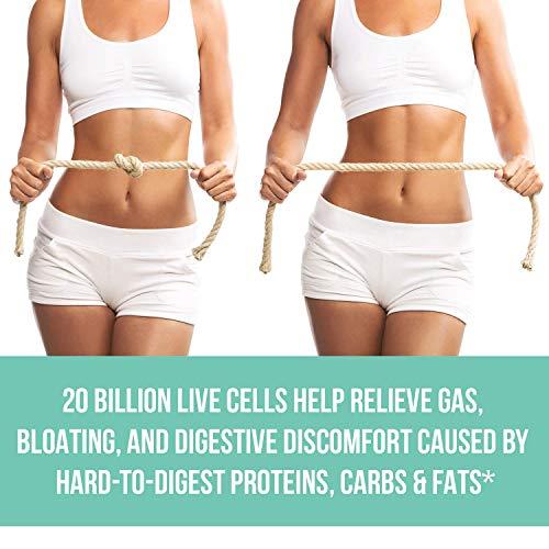 MAV Nutrition Probiotics + Prebiotics for Digestive Enzymes Support, Non-GMO, Vegetarian Friendly, 60 Count 7
