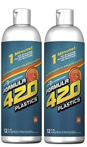 Formula 420 Plastics & Silicone Cleaner 12oz (2 Pack)