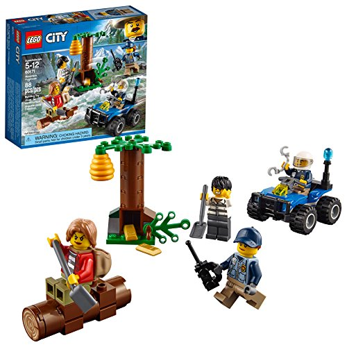 LEGO City Mountain Fugitives 60171 Building Kit (88 Piece)
