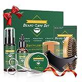 BEAU-PRO Kit Barbe pour Hommes, 9 Pcs, pour Papa/Mari/Petit Ami, Kit...