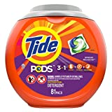 Tide Pods 3 in 1, Laundry Detergent Pacs, Spring Meadow Scent, 81 Count (Home)