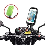 ENONEO Support Telephone Moto étanche Rotation à 360° Support Smartphone Moto Scooter avec...