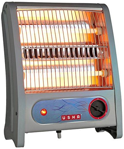 Usha Quartz Room Heater (3002) 800-Watt with Overheating Protection (Ivory)