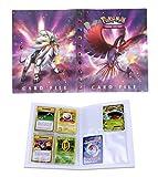 Porte Carte Pokemon, Album pour Cartes Pokemon GX, Classeur Carte Pokemon Album,...