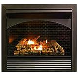 ProCom 32' Zero Fireplace Insert with Remote Control-Model FBNSD32RT