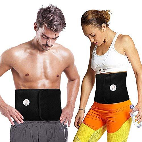 Dekool Universale Fascia Cintura Dimagrante Compatibile con Tutte le Dimensioni per Uomo e Donna,...