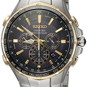 Coutura Men's Radio Sync Solar Chronograph Watch 1