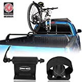 Hooke Road Universal Bike Car Carrier Quick-Release Alloy Fork Lock Alloy Bed | Roof Mount Rack for 1 Bike - Cross Bars not Included